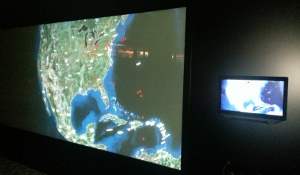 Rear-projection display system